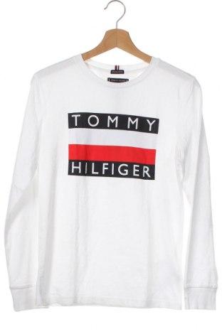 Παιδική μπλούζα Tommy Hilfiger, Μέγεθος 12-13y/ 158-164 εκ., Χρώμα Λευκό, Βαμβάκι, Τιμή 30,84€