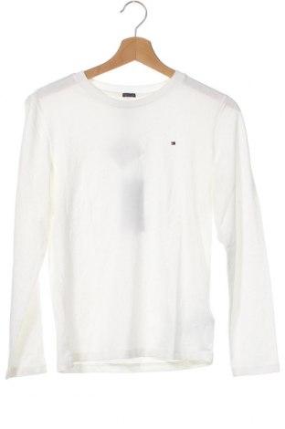 Παιδική μπλούζα Tommy Hilfiger, Μέγεθος 10-11y/ 146-152 εκ., Χρώμα Λευκό, Βαμβάκι, Τιμή 24,19€