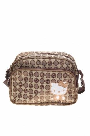 Παιδική τσάντα Hello Kitty, Χρώμα  Μπέζ, Κλωστοϋφαντουργικά προϊόντα, Τιμή 11,11€