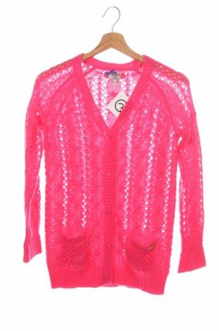 Детска жилетка Pepe Jeans, Размер 10-11y/ 146-152 см, Цвят Розов, Цена 9,91лв.