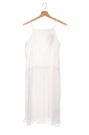 Детска рокля Blue Seven, Размер 15-18y/ 170-176 см, Цвят Бял, Полиестер, Цена 17,70лв.