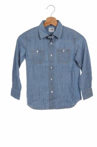 Παιδικό πουκάμισο Crewcuts, Μέγεθος 4-5y/ 110-116 εκ., Χρώμα Μπλέ, Βαμβάκι, Τιμή 15,41€