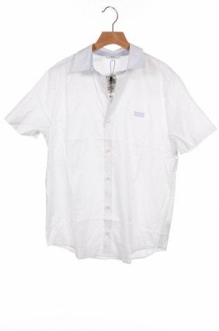Παιδικό πουκάμισο Hugo Boss, Μέγεθος 13-14y/ 164-168 εκ., Χρώμα Λευκό, Βαμβάκι, Τιμή 59,23€