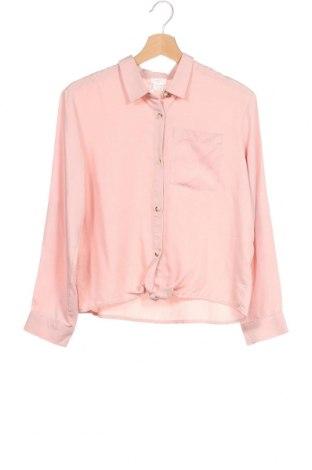 Παιδικό πουκάμισο Mango, Μέγεθος 13-14y/ 164-168 εκ., Χρώμα Ρόζ , 100% τενσελ, Τιμή 16,42€