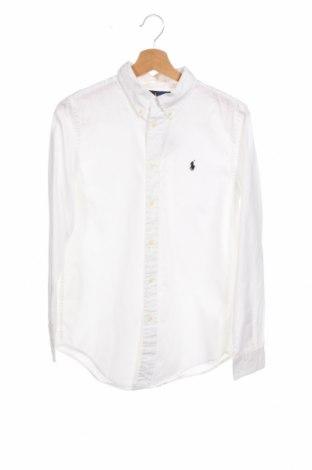 Παιδικό πουκάμισο Polo By Ralph Lauren, Μέγεθος 15-18y/ 170-176 εκ., Χρώμα Λευκό, Βαμβάκι, Τιμή 38,38€