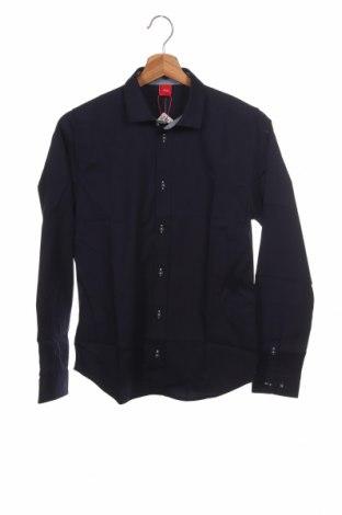 Παιδικό πουκάμισο S.Oliver, Μέγεθος 13-14y/ 164-168 εκ., Χρώμα Μπλέ, 96% βαμβάκι, 4% ελαστάνη, Τιμή 18,76€
