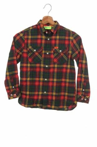 Παιδικό πουκάμισο Superdry, Μέγεθος 7-8y/ 128-134 εκ., Χρώμα Πολύχρωμο, 100% βαμβάκι, Τιμή 24,19€