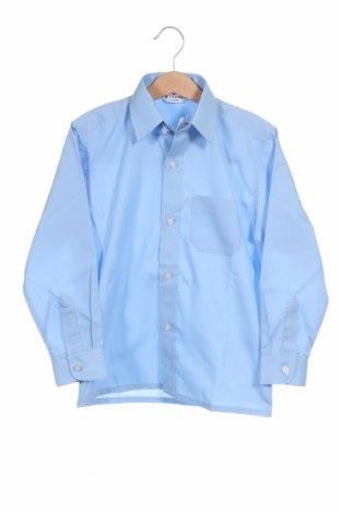 Παιδικό πουκάμισο Trutex, Μέγεθος 5-6y/ 116-122 εκ., Χρώμα Μπλέ, 65% πολυεστέρας, 35% βαμβάκι, Τιμή 11,54€