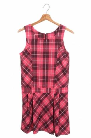 Детска рокля Manguun, Размер 13-14y/ 164-168 см, Цвят Розов, 65% полиестер, 35% вискоза, Цена 6,60лв.