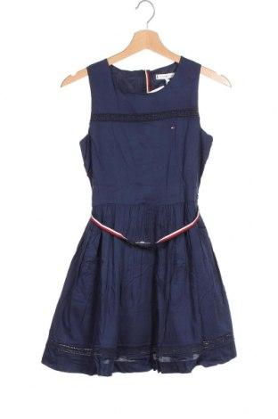 Παιδικό φόρεμα Tommy Hilfiger, Μέγεθος 11-12y/ 152-158 εκ., Χρώμα Μπλέ, Βισκόζη, Τιμή 41,71€
