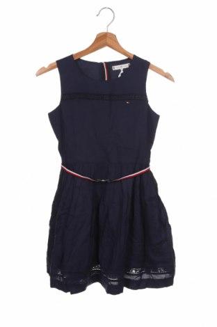 Παιδικό φόρεμα Tommy Hilfiger, Μέγεθος 8-9y/ 134-140 εκ., Χρώμα Μπλέ, 100% βισκόζη, Τιμή 38,21€