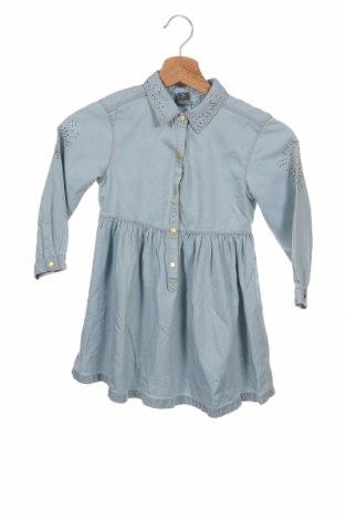 Dětské šaty  Zara, Velikost 5-6y/ 116-122 cm, Barva Modrá, Bavlna, Cena  455,00Kč