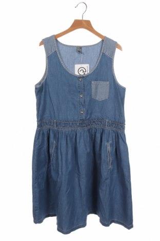 Dětské šaty  Zara Kids, Velikost 12-13y/ 158-164 cm, Barva Modrá, Bavlna, Cena  275,00Kč