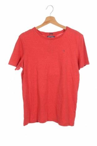 Παιδικό μπλουζάκι Tommy Hilfiger, Μέγεθος 15-18y/ 170-176 εκ., Χρώμα Κόκκινο, Τιμή 18,06€