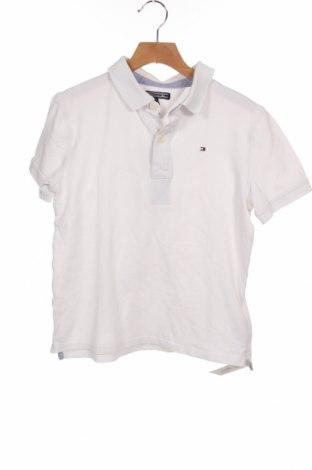 Παιδικό μπλουζάκι Tommy Hilfiger, Μέγεθος 11-12y/ 152-158 εκ., Χρώμα Λευκό, 96% βαμβάκι, 4% ελαστάνη, Τιμή 18,22€