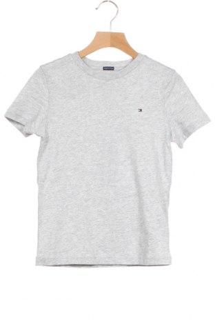 Παιδικό μπλουζάκι Tommy Hilfiger, Μέγεθος 6-7y/ 122-128 εκ., Χρώμα Γκρί, Βαμβάκι, Τιμή 20,68€