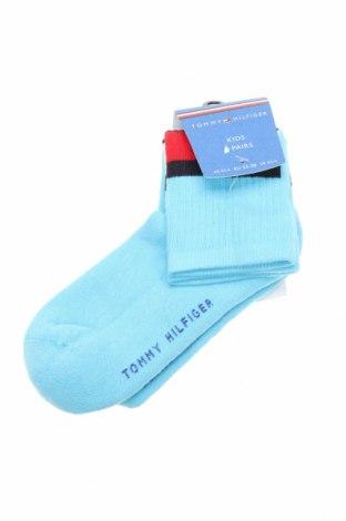 Παιδικές κάλτσες Tommy Hilfiger, Μέγεθος 11-12y/ 152-158 εκ., Χρώμα Μπλέ, Τιμή 8,41€