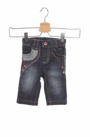 Dětské džíny  Reserved, Velikost 2-3m/ 56-62 cm, Barva Modrá, Bavlna, Cena  287,00Kč