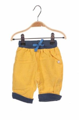 Παιδικό κοτλέ παντελόνι Frugi, Μέγεθος 2-3m/ 56-62 εκ., Χρώμα Κίτρινο, 100% βαμβάκι, Τιμή 13,71€