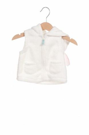Παιδικό γιλέκο Carter's, Μέγεθος 2-3m/ 56-62 εκ., Χρώμα Λευκό, Πολυεστέρας, Τιμή 10,72€