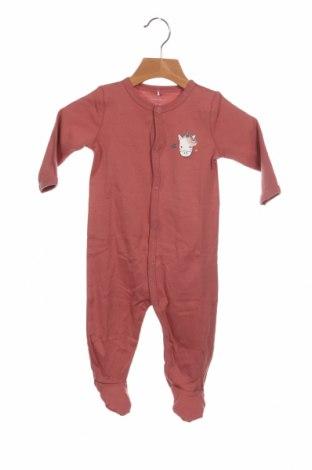 Παιδική σαλοπέτα Name It, Μέγεθος 3-6m/ 62-68 εκ., Χρώμα Ρόζ , Βαμβάκι, Τιμή 10,72€