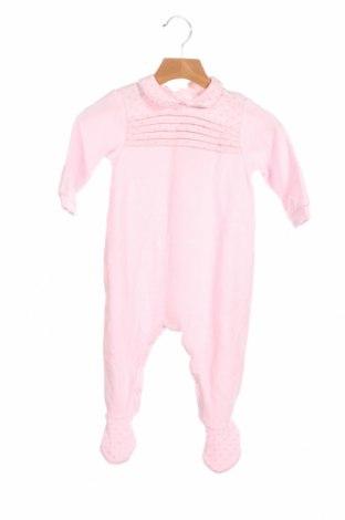 Παιδική σαλοπέτα Tutto Piccolo, Μέγεθος 9-12m/ 74-80 εκ., Χρώμα Ρόζ , 80% βαμβάκι, 20% πολυεστέρας, Τιμή 14,20€