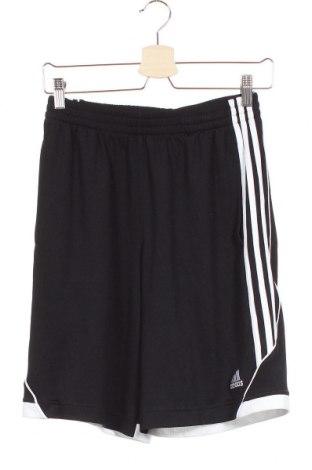 Dětské krátké kalhoty  Adidas, Velikost 15-18y/ 170-176 cm, Barva Černá, Polyester, Cena  318,00Kč