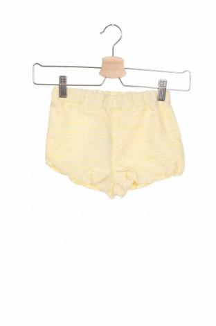 Детски къс панталон Bardot, Размер 12-18m/ 80-86 см, Цвят Жълт, Памук, Цена 9,75лв.