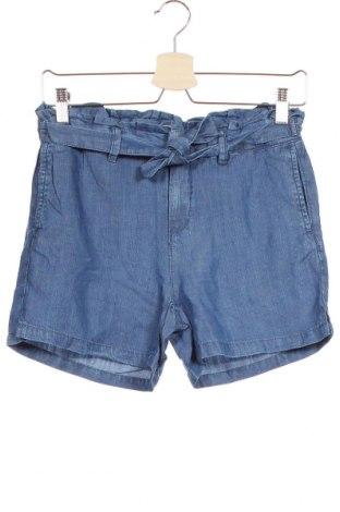 Παιδικό κοντό παντελόνι Name It, Μέγεθος 11-12y/ 152-158 εκ., Χρώμα Μπλέ, Lyocell, Τιμή 14,07€
