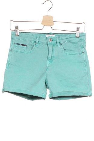 Παιδικό κοντό παντελόνι Tommy Hilfiger, Μέγεθος 15-18y/ 170-176 εκ., Χρώμα Πράσινο, 97% βαμβάκι, 3% ελαστάνη, Τιμή 19,87€