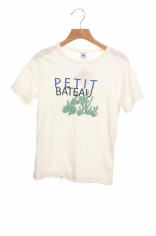 Παιδικό σύνολο Petit Bateau, Μέγεθος 9-10y/ 140-146 εκ., Χρώμα Λευκό, 70% βαμβάκι, 30% λινό, Τιμή 16,24€