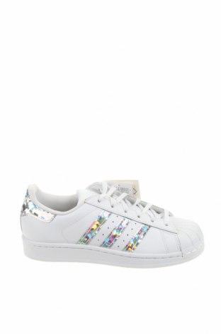 Παιδικά παπούτσια Adidas Originals, Μέγεθος 36, Χρώμα Λευκό, Γνήσιο δέρμα, Τιμή 46,01€