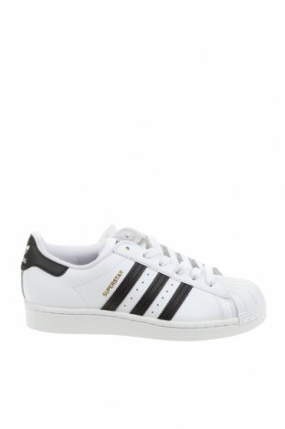 Παιδικά παπούτσια Adidas Originals, Μέγεθος 37, Χρώμα Λευκό, Γνήσιο δέρμα, Τιμή 49,87€