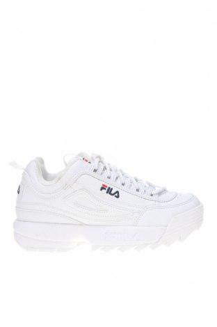 Παιδικά παπούτσια Fila, Μέγεθος 35, Χρώμα Λευκό, Δερματίνη, Τιμή 53,74€