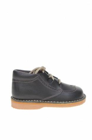 Детски обувки Little Celebs, Размер 21, Цвят Черен, Естествена кожа, Цена 51,75лв.