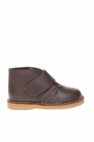 Детски обувки Little Celebs, Размер 20, Цвят Кафяв, Естествена кожа, Цена 23,70лв.