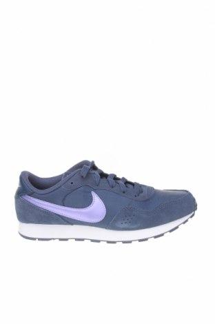 Παιδικά παπούτσια Nike, Μέγεθος 37, Χρώμα Μπλέ, Φυσικό σουέτ, κλωστοϋφαντουργικά προϊόντα, Τιμή 46,01€