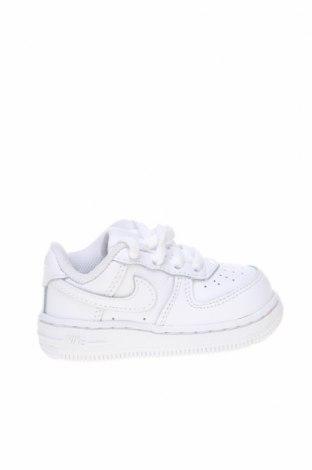 Παιδικά παπούτσια Nike, Μέγεθος 21, Χρώμα Λευκό, Γνήσιο δέρμα, Τιμή 49,87€