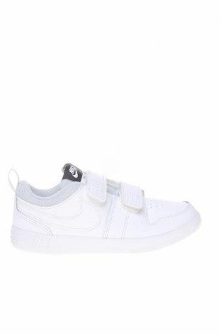 Παιδικά παπούτσια Nike, Μέγεθος 33, Χρώμα Λευκό, Γνήσιο δέρμα, δερματίνη, Τιμή 49,87€