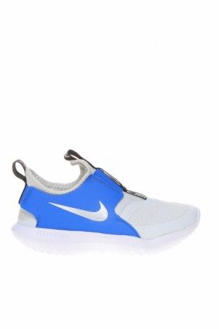 Παιδικά παπούτσια Nike, Μέγεθος 28, Χρώμα Γκρί, Κλωστοϋφαντουργικά προϊόντα, γνήσιο δέρμα, Τιμή 38,27€