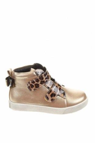 Детски обувки Oca-Loca, Размер 26, Цвят Златист, Еко кожа, Цена 59,25лв.