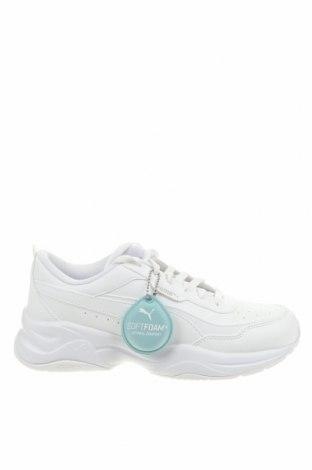 Παιδικά παπούτσια PUMA, Μέγεθος 39, Χρώμα Λευκό, Δερματίνη, Τιμή 46,01€