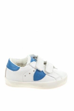 Παιδικά παπούτσια Philippe Model, Μέγεθος 21, Χρώμα Λευκό, Γνήσιο δέρμα, Τιμή 61,47€