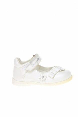 Детски обувки Primigi, Размер 21, Цвят Бял, Естествена кожа, Цена 28,80лв.