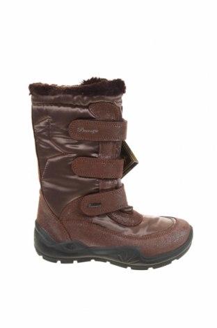 Детски обувки Primigi, Размер 34, Цвят Кафяв, Естествен велур, текстил, Цена 54,50лв.
