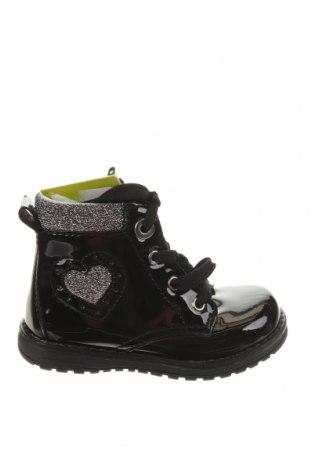 Детски обувки Primigi, Размер 23, Цвят Черен, Еко кожа, Цена 69,00лв.