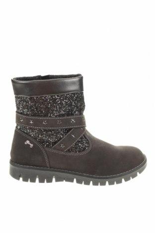 Детски обувки Primigi, Размер 37, Цвят Сив, Естествен велур, текстил, Цена 89,00лв.