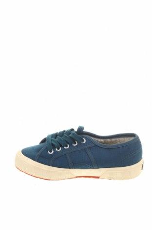 Детски обувки Superga, Размер 30, Цвят Син, Текстил, Цена 37,95лв.