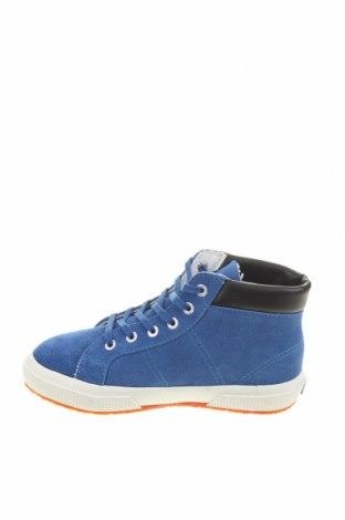 Детски обувки Superga, Размер 31, Цвят Син, Естествен велур, Цена 46,53лв.