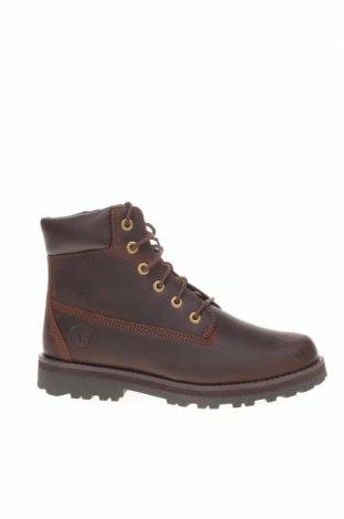 Детски обувки Timberland, Размер 37, Цвят Кафяв, Естествена кожа, Цена 289,00лв.